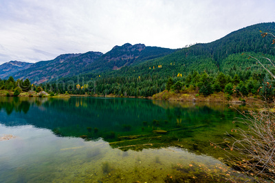 Clicking out and about: Landscapes &emdash; Gold creek pond